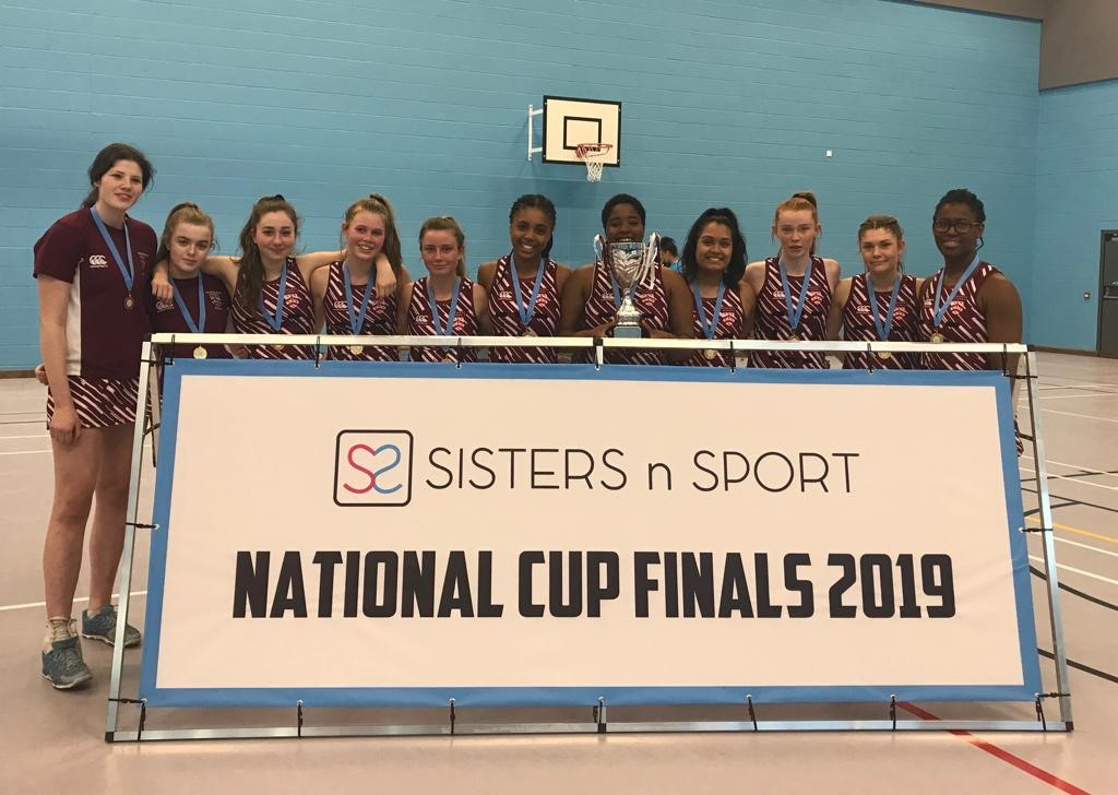 Sisters n Sport National Netball Cup 2019 - 1st team crowned National Champions