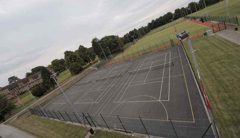 Netball/Tennis Courts