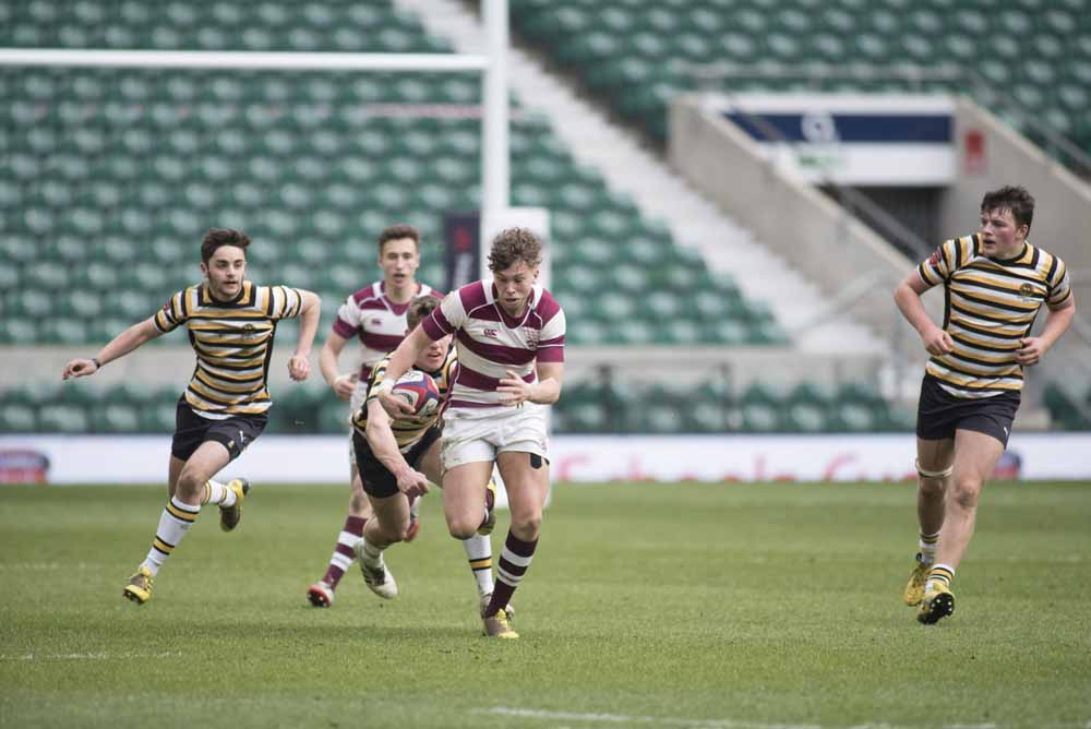 NatWest Schools Cup Final (won 18-10 against QEGS Wakefield